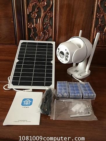 กล้องวงจรปิด พลังงานแสงอาทิตย์ ใส่ซิมมือถือ 4G โซล่าร์เซล ภายนอกอาคาร...
