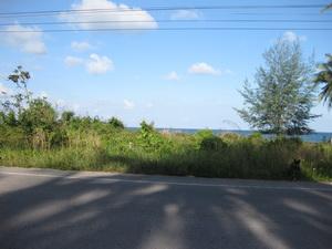 ที่ดินเปล่า ด้านหน้าติดทะเล ด้านหลังติดถนน 100 ตร.วา เหมาะสำหรับการพักผ่อน อ.หลังสวน จ.ชุมพร 5 แสน 1