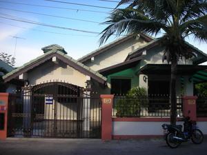 บ้านเดี่ยว หมู่บ้าน พาราไดซ์ ฮิลล์ 2 Paradise Hill 2 ซ.วัดบุญสัมพันธ์ พัทยา บางละมุง ชลบุรี 2.7ล้าน