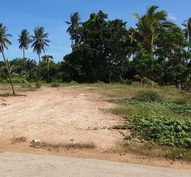 ขาย ที่ดินเปล่า ติดถนนสาธารณะ ถมแล้ว เหมาะกับการสร้างบ้านพักอาศัย อ.ปราณบุรี