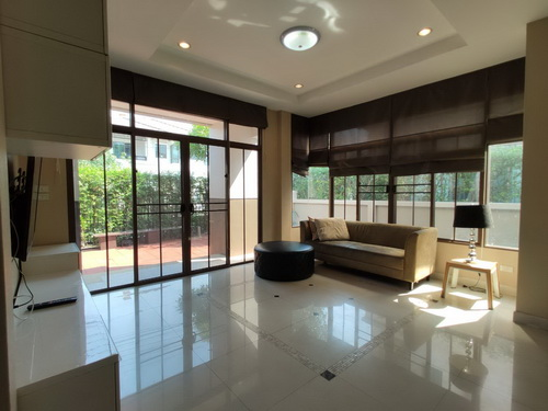 House for rent in SETTHASIRI BANGNA 3 Bedroom with 1 separated maid room with toilet 1