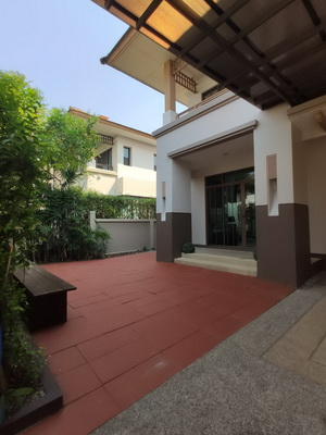 House for rent in SETTHASIRI BANGNA 3 Bedroom with 1 separated maid room with toilet 9