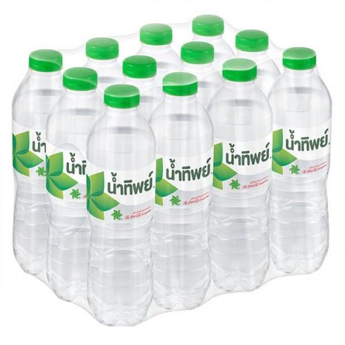 น้ำดื่มน้ำทิพย์ 550ml แพ็คละ 12 ขวด