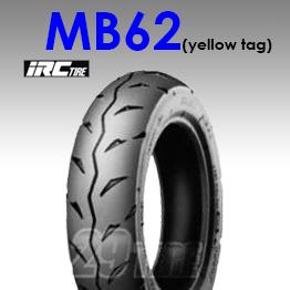 ยางนอก irc รุ่น MB62 (ยางเกรดสนาม) ป้ายเหลือง ขอบ 10