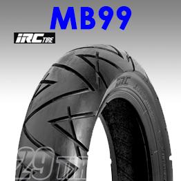 ยางนอก irc รุ่น MB99 tl ขอบ 13 ขนาด 130/60-13, 110/90-13, 130/70-13