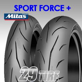 ยางนอก Mitas รุ่น Sport Force plus