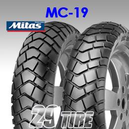 ยางนอก Mitas รุุ่น MC19 ขอบ 12