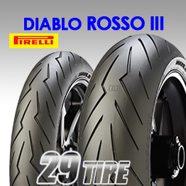 ยางนอก Pirelli (พิเรลลี่) รุ่น Diablo Rosso3  ขอบ 17 ทั้งหมด