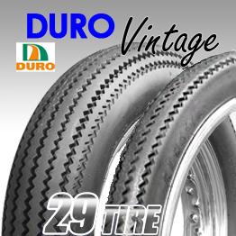 ยางนอก Duro Vintage  ลายฟันเลื่อย