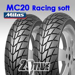 ยางนอก Mitas รุุ่น MC20 Racing Soft