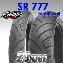 ยางนอก SHINKO(ชินโกะ) รุ่น SR777 (ขอบดำ) ขอบ 16