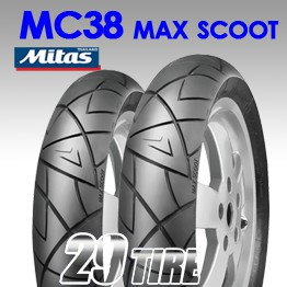 ยางนอกไมทัส Mitas รุ่น MC-38 Maxscoot
