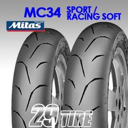 ยาง Mitas รุ่น MC-34 Sport และ Racing super soft