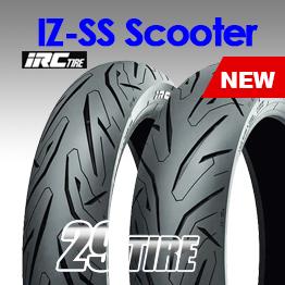 ยางมอเตอร์ไซค์ ลายใหม่ IRC ลายสปอร์ต IZSS Scooter ใส่ XMAX, New Forza, Aerox, Nmax,PCX2018