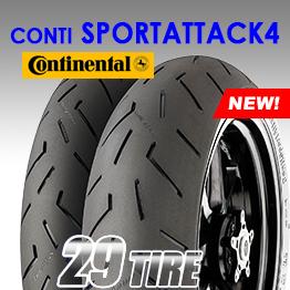 ยางนอก Continental รุ่น Conti Sport Attack4