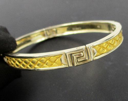 กำไล Gold Master ทอง24K ลาย Gucci 2 กษัตริย์ งานสวยมาก นน. 30.21 g