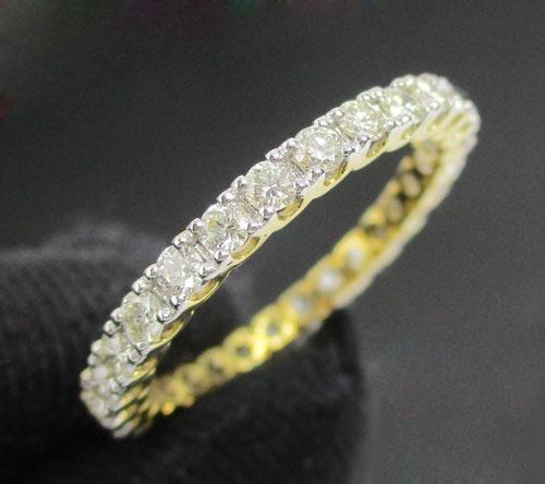 แหวน เพชรรอบวง เพชร 28 เม็ด 0.90 กะรัต ทอง18K งานสวยมาก นน. 2.01 g