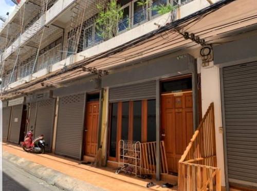 ตึกแถวสีลมให้เช่าถูก / ตึกแถวสภาพดี ใกล้สนง.เขตบางรัก สถานีรถไฟฟ้า MRTหัวลำโพง