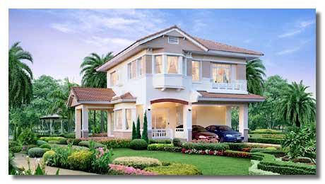 (ให้เช่าแล้ว) บ้านใหม่ให้เช่า ม.นันทวัน-ศรีนครินทร์ โครงการบ้านสบาย LandHouse เฟอร์ครบ