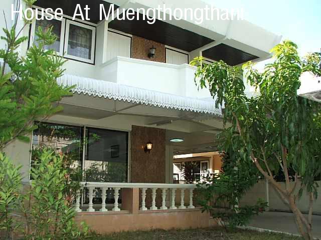 (มีผู้เช่าแล้ว) บ้านเช่าเมืองทองธานีแจ้งวัฒนะ / บ้านเดี่ยวใกล้อิมแพคอารีน่า ใกล้ทะเลสาบ