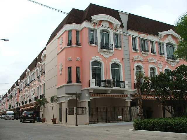 (มีผู้เช่าแล้ว) บ้านเช่าลาดพร้าว เหม่งจ๋าย / NEW HOME OFFICE บ้านกลางเมือง Grand DE PARIS สวยที่สุด