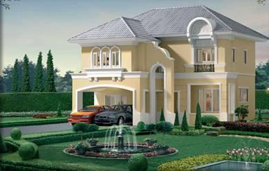 (บ้านเช่าไปแล้ว) บ้านเช่าอ่อนนุช / บ้านสวยให้เช่า หมู่บ้านปริญสิริ ดิ ยูโรไพร์ม อ่อนนุช-สุวรรณภูมิ โ