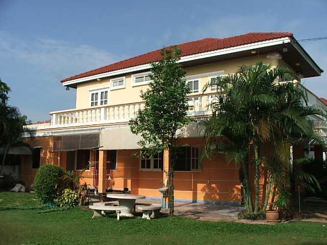 (ให้เช่าแล้ว) บ้านเช่ามีนบุรี / ถูกๆ 5 ห้องนอน วิวทะเลสาบ ม.ปัญญาเลคโฮม มีนบุรี ใกล้โรงเรียนนานาชาติ