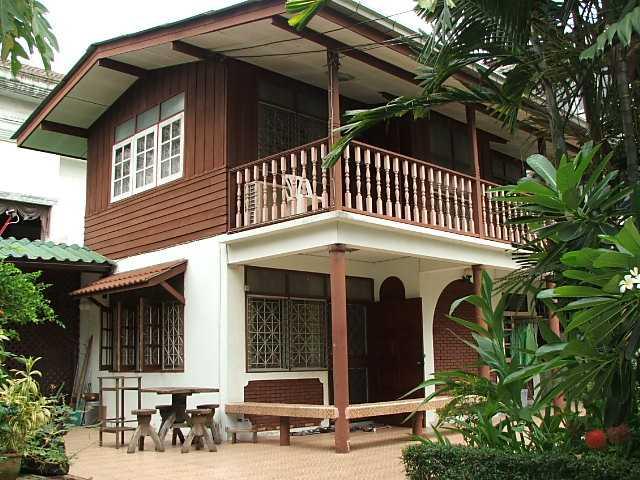 (มีผู้เช่าแล้ว) บ้านเช่ารามอินทรา / บ้านไทยๆ เช่าถูกๆ บรรยากาศบ้านสวน สวยร่มรื่น 120 ตรว.