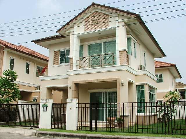 (มีผู้เช่าแล้ว) บ้านเช่ารามอินทรา / บ้านเช่าโครงการแสนสิริ  House For Rent at Saransiri Village
