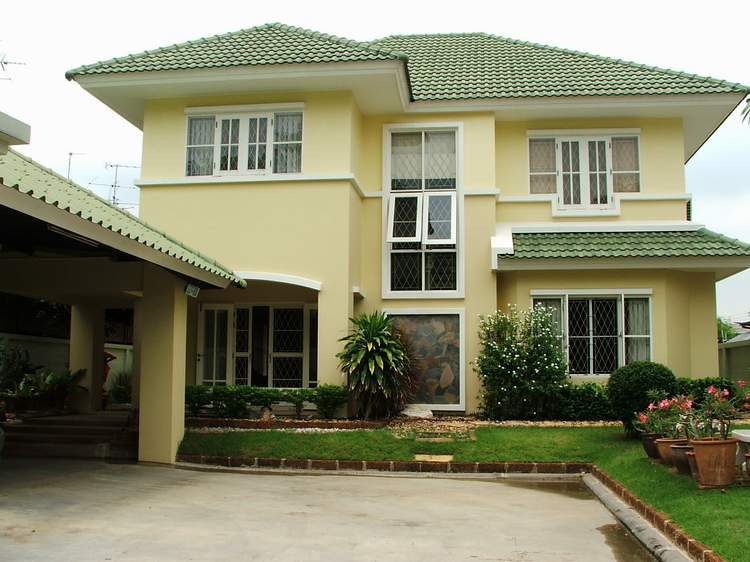 (บ้านเช่าไปแล้ว) บ้านเช่าเสรีไทย / บ้านสวยหลังใหญ่ 120 ตรว.สวนสวย หมู่บ้านสหกรณ์ใกล้ TheMall บางกะปิ