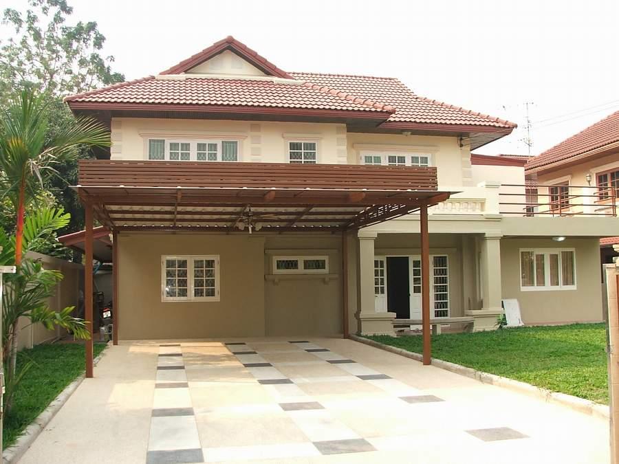 (มีผู้เช่าแล้ว) บ้านเช่ารัตนาธิเบศน์ / บ้านเดี่ยวให้เช่า กว้างขวาง 100 ตรว. 5 ห้องนอน ปรับปรุงใหม่ 1