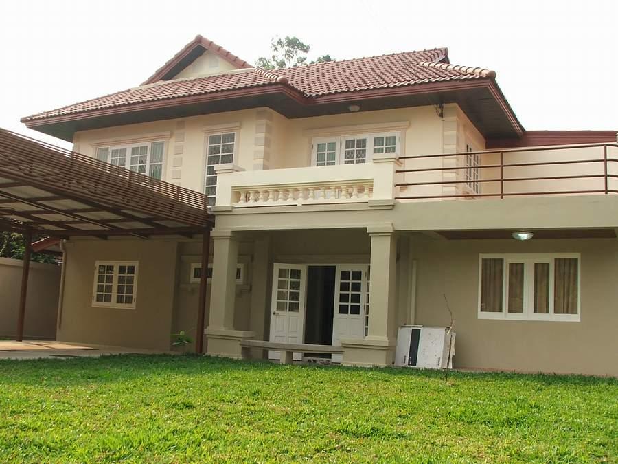 (มีผู้เช่าแล้ว) บ้านเช่ารัตนาธิเบศน์ / บ้านเดี่ยวให้เช่า กว้างขวาง 100 ตรว. 5 ห้องนอน ปรับปรุงใหม่ 2