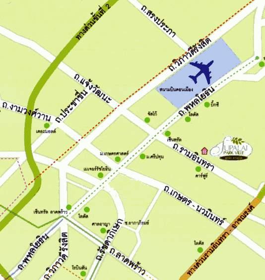 (มีผู้เช่าแล้ว) บ้านเช่ารามอินทรา / HOME OFFICE ให้เช่าถูก หมู่บ้านศุภาลัยพาร์ควิลล์-รามอินทรา23 ทำเ 4