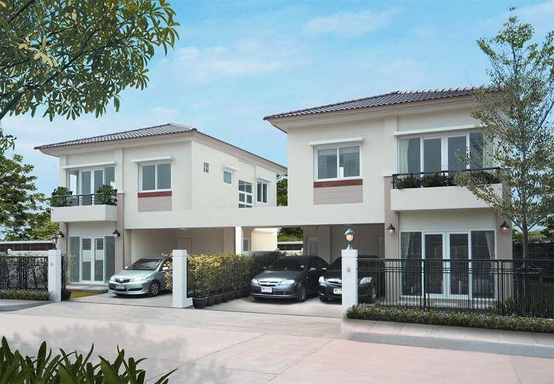 (บ้านเช่าไปแล้ว) บ้านเช่าดอนเมือง / บ้านใหม่ให้เช่า ถูกมาก! ม.ศุภาลัยวิลล์ หลักสี่-ดอนเมือง ใกล้สนง.