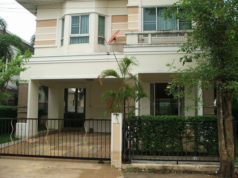 (บ้านเช่าไปแล้ว)  บ้านเช่าพระราม5 / บ้านสวยให้เช่า โครงการหรู เพอร์เฟคเพลส พระราม5-ราชพฤกษ์ 2