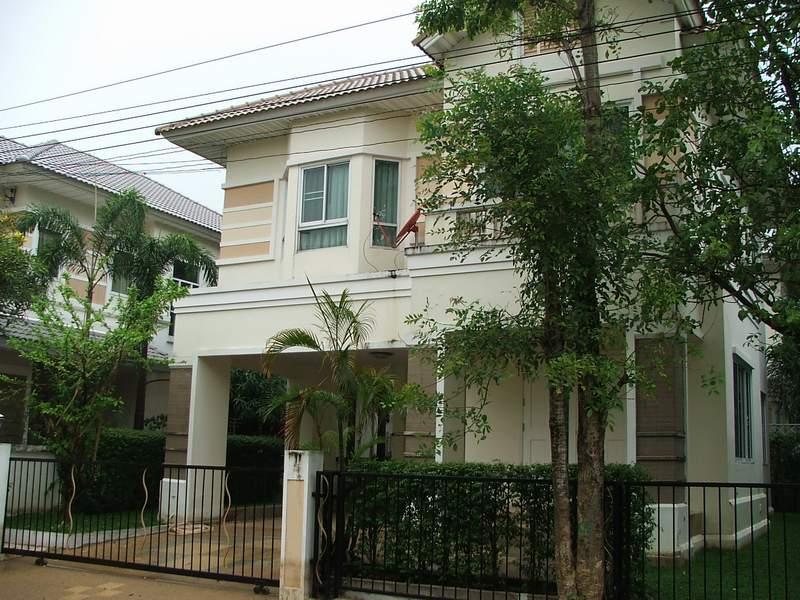 (บ้านเช่าไปแล้ว)  บ้านเช่าพระราม5 / บ้านสวยให้เช่า โครงการหรู เพอร์เฟคเพลส พระราม5-ราชพฤกษ์ 6