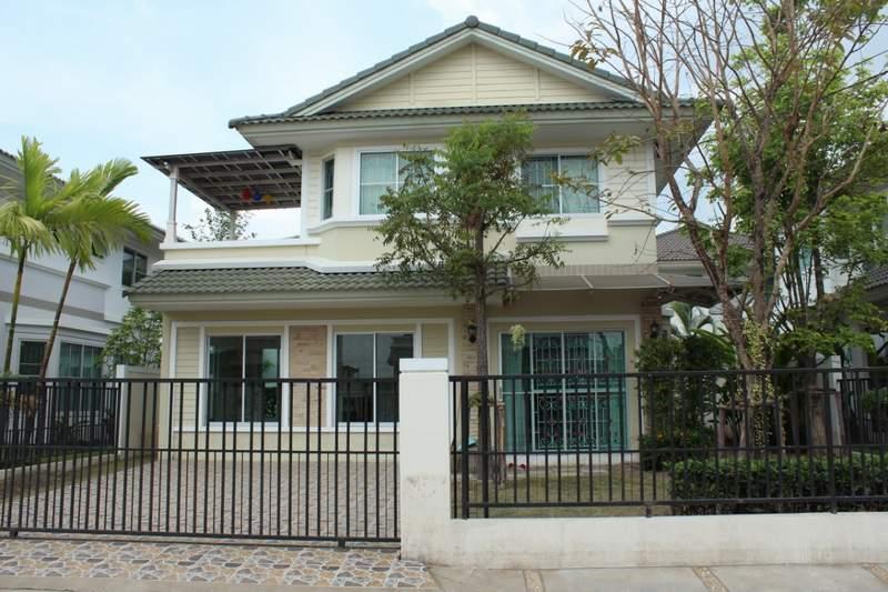 (บ้านเช่าไปแล้ว)บ้านเช่ารังสิต / บ้านสวย ให้เช่าถูก ม.พฤกษ์ลดา-รังสิตคลอง4 โครงการแลนด์เฮาส์