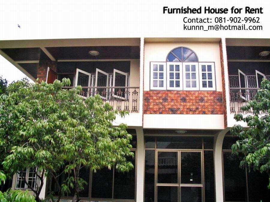 (บ้านเช่าไปแล้ว) บ้านเช่าประชาอุทิศ / ให้เช่าบ้านเดี่ยว พร้อมเนื้อที่ขนาดใหญ่ ในทําเลเยี่ยมย่านประชา