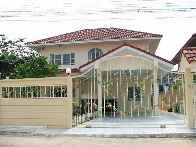 (บ้านเช่าไปแล้ว) บ้านเช่าบางกรวย/ บ้านดี่ยวให้เช่าราคาถูก  หมู่บ้านสวนศรีบัญฑิตย ใกล้การไฟฟ้าบางกรวย