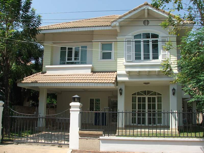 บ้านเช่ารามคำแหง / ให้เช่าบ้านสวย เฟอร์ครบตกแต่งสวยงาม น่าอยู่มาก บ้านภัทรา รามคำแหง76 1