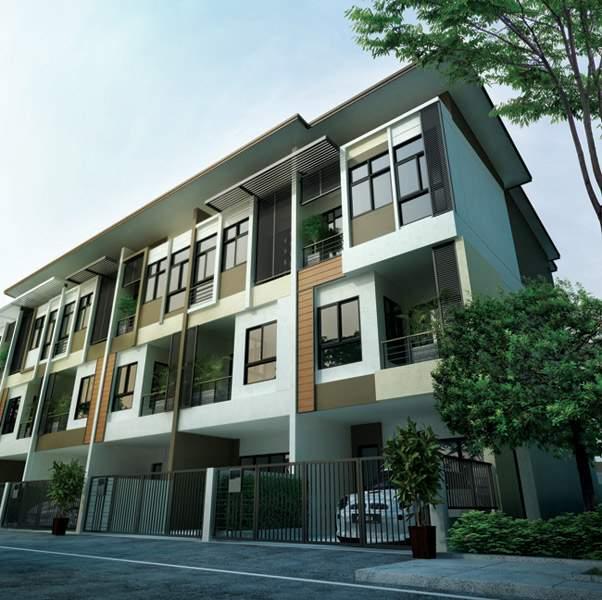 (บ้านเช่าไปแล้ว)บ้านเช่าเอกชัย-บางบอน / ให้เช่าราคาถูก ทาวน์โฮมใหม่ 3ชั้น โครงการ Sixnature เอกชัย64