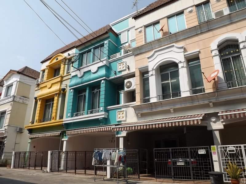 (บ้านเช่าไปแล้ว) บ้านเช่าศรีนครินทร์ / Home Office ให้เช่า บ้านกลางเมือง บริติชทาวน์ ใกล้ห้างแม็คโคร