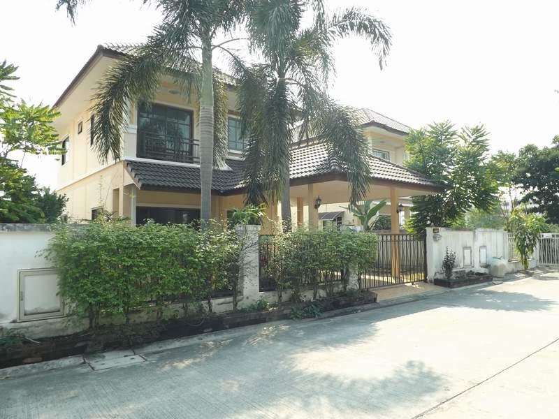 (บ้านเช่าไปแล้ว)บ้านเช่ามีนบุรี /บ้านเช่าราคาถูก หมู่บ้านเต็มสิริพาร์ค ใกล้ไปรษณีย์ นิมิตรใหม่ 2