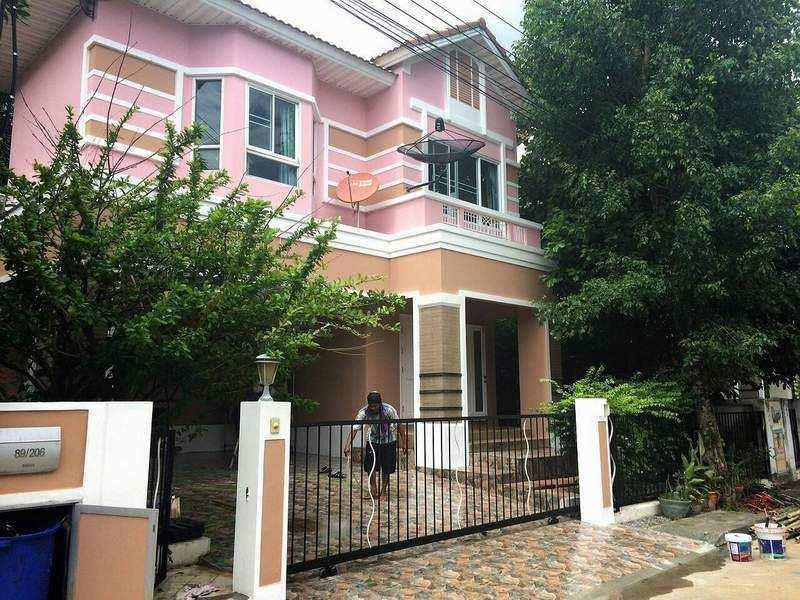 (บ้านเช่าไปแล้ว)  บ้านเช่าพระราม5 / บ้านสวยให้เช่า โครงการหรู เพอร์เฟคเพลส พระราม5-ราชพฤกษ์