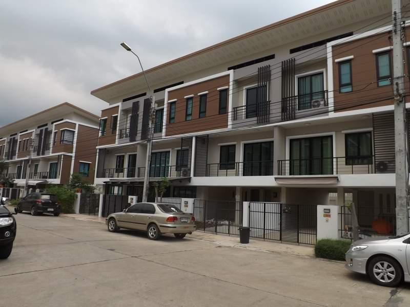 (บ้านเช่าไปแล้ว) บ้านเช่ามีนบุรี / ให้เช่าถูกที่สุด HOME OFFICE ใกล้ห้าง BIG-C สุวินทวงศ์