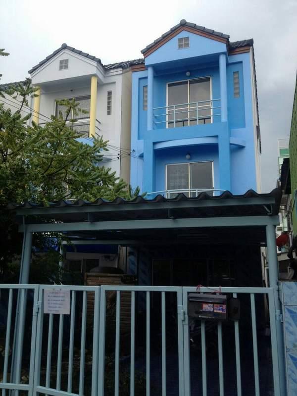 (บ้านเช่าไปแล้ว) บ้านเช่าเพชรเกษม / ทาวน์โฮมสภาพดี หมู่บ้านเศรษฐกิจ-เพชรเกษม ใกล้อัสสัมชัญธนบุรี