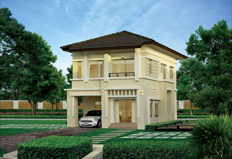 (บ้านเช่าไปแล้ว) บ้านเช่าสุขุมวิท113 / บ้านเดี่ยวสวยๆ ให้เช่าถูก The Centro  บ้านพร้อมอยู่เฟอร์ครบ