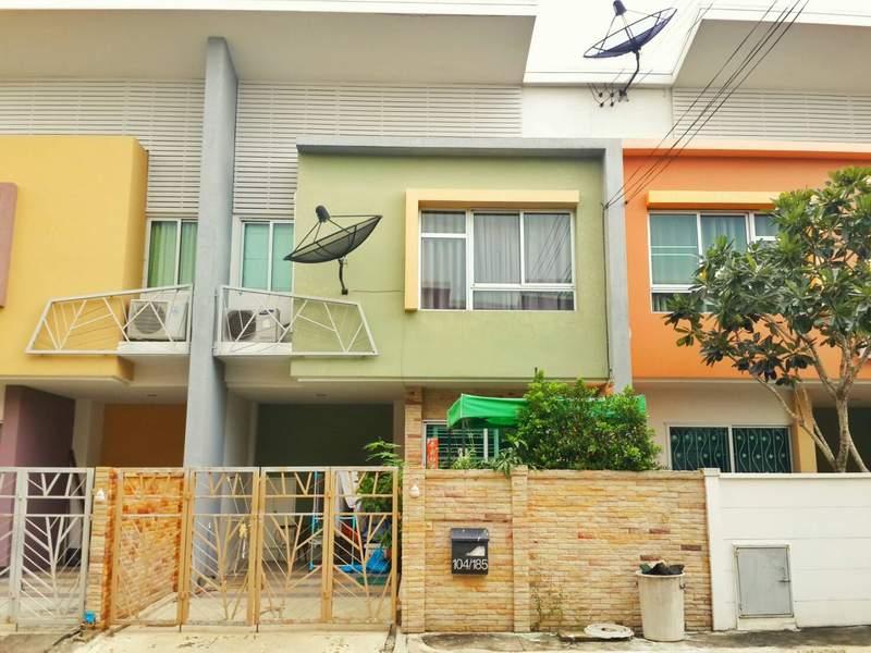 (บ้านเช่าไปแล้ว) บ้านเช่ารามอินทรา / บ้านเช่าราคาถูก แต่งสวย เฟอร์ครบพร้อมอยู่ หมู่บ้านไอดีไซน์