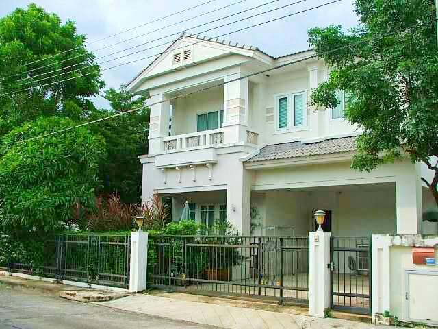 (บ้านเช่าไปแล้ว) บ้านเช่าอ่อนนุช / บ้านสวยให้เช่า โครงการหรูเพอร์เฟคเพลส สุวรรณภูมิ ทำเลดีหลังหัวมุม 1