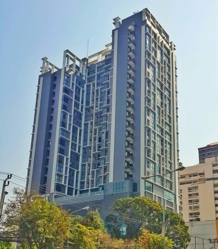 (ขายไปแล้ว) ขายถูก Condo IDEO Mobi พญาไท ใกล้สถานีรถไฟฟ้า BTS พญาไท แบบห้อง Duplex 2ชั้น
